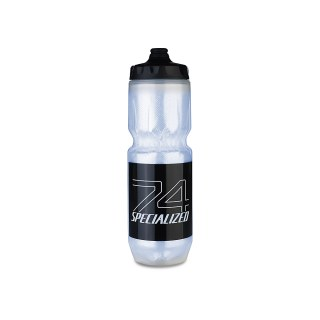 Specialized EQ 17 Purist Insulated Fixy Translucent/Black 74-Logo