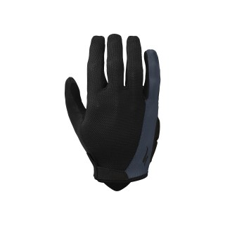 Specialized EQ 2019 Womens Body Geometry Sport Long Finger Gloves Black/Carbon Grey