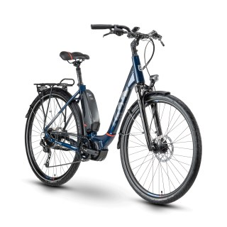 Husqvarna Eco City 3 28 Zoll Size 48cm 9 Deore Blue/Red